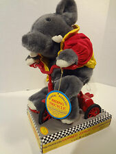 1989 Happiness Express This End Up FurnitureTricycle Riding Babar Type Elephant