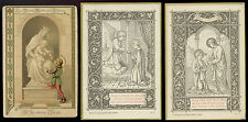 lotto santini-holy cards lot-lot images pieuses-konvolut heiligenbildichen 2491