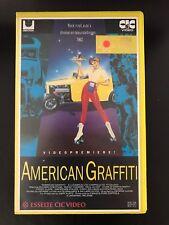 American Graffiti Ex-Rental Vintage Big Box VHS Tape English  dutch subs