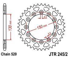 KR Kettenrad 41 Z Teilung 520 YAMAHA YZ 400 /  426 / 450 F 99-06  Rear sprocket