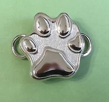 in Usa use w Convertible bracelet New Paw Print Clasp Sterling Silver 925 Made