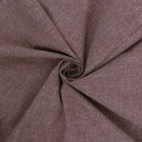 Roma Melange Plain Wine Red Natural Textured Upholstery Fabric