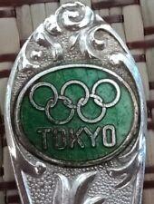 Souvenir teaspoon of Tokyo Olympic Games 1964