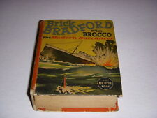Brick Bradford With Brocco Modern Buccaneer, Big Little Book BLB #1468, 1938 VG!