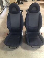 SMART FORTWO 450 COUPE CABRIO FRONT FABRIC SEATS PAIR LEFT&RIGHT 1998-2007