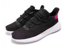 Adidas Womens Originals Tubular Dusk W Running Shoe Black White Pink Sz 8 AQ1198