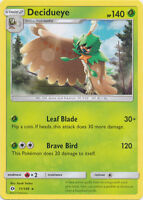 4x Decidueye - 11/149 - Rare Sun & Moon Base Set Pokemon Near Mint