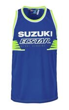 SUZUKI MOTOGP ECSTAR TEAM meshhemd gr. XL SHIRT BLEU MOTO GP Chemise jersey GSXR