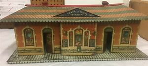 Circa 1910-1912 Ives No. 116 Grand Central Passenger Station Model Train RARE