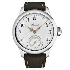 Zeno Men's RECORD Limited Edition pocket watch on the wrist White Dial 1460-S2