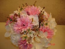 QUALITY BRIDAL BOUQUET BRIDESMAID BUTTONHOLES CORSAGE BESPOKE  SUMMER WEDDING
