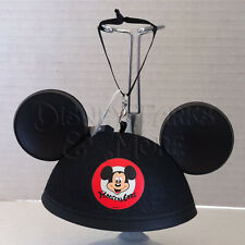Disney Parks Classic Mickey Mouse Mouseketeer Mini Ears Hat 3D Ornament