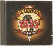 THE GOLDEN AGE OF POPULAR MUSIC - 1935 CD - FREE POST IN UK