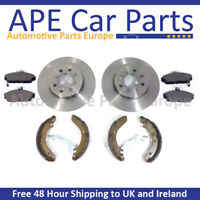 Jag X-Type 2.0 2.2 2.5 3.0 Chassis E21054-/> 04-10 Front /& Rear Brake Discs /&Pads
