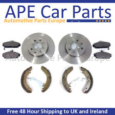 Nissan Note E11 06-14 All Models Front Brake Discs and Pads & Shoes OEM Type