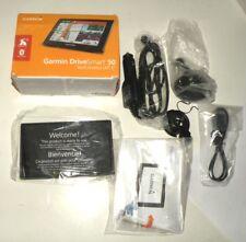 Garmin DriveSmart 50LMT Portable GPS Navigator