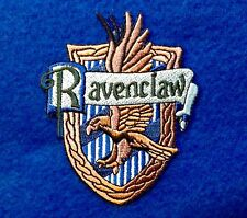 RAVENCLAW Iron On Embroidery Patch Harry Potter 3.2 X 2.7 Hogwarts wizard wand
