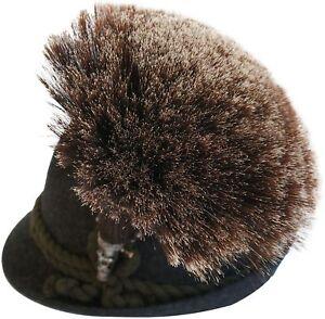 Gamsbart extra groß + Hülse ohne Trachten-Hut Trachtenhut Gemse Jagd Gams Gämse