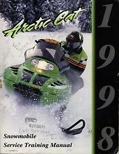 New listing 1998 ARCTIC CAT SNOWMOBILE TRAINING SERVICE  MANUAL (558)