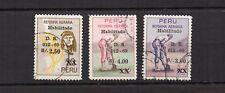 PEROU 1967 Y&T N°496 à 498 3 timbres oblitérés / T4153