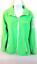 Free Country Women's Green Soft Fleece Jacket Polyester Zip Pockets Size Large