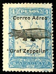 PARAGUAY C55 1931 Graf Zeppelin Mint NH OG VF (O-65)