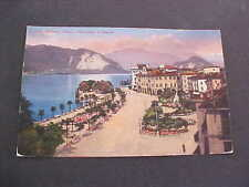 Pallanza Piazza and Monumento a Cadorna Italy Postcard