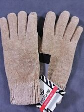 NWT Isotoner Women's Chenillhe Microluxe Thinsulated Knit Winter Gloves 1S