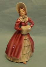 WIEN KERAMOS LORENZL Dress Up GIRL YOUNG Biedermeier LADY Female Art FIGURINE