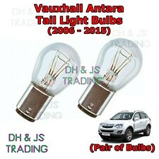 Vauxhall Antara Tail Light Bulbs Pair of Rear Tail Light Bulb Lights (06-15)