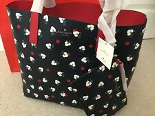 Kate Spade Reversible Mya Breezy Floral Ditsy Large Tote, Leather, BRAND NEW
