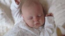Custom made reborn newborn fake baby lifelike doll reva serah xmas Noah silicone