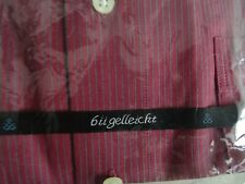 Sachs Hemd,Oberhemd,normal weit, Gr. 44, extra lange Ärmel,Baumwolle bügelleicht