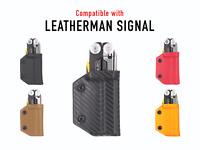 Clip & Carry Kydex Multitool Sheath - Leatherman Signal - USA Made