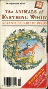 The Animals of Farthing Wood 32, PAL VHS Video Tape, Elphin Lloyd-Jones