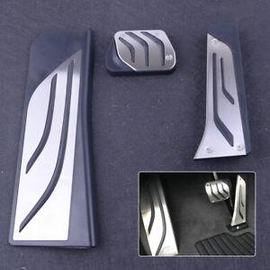 3X Gas Brake Footrest Pedals Fit for BMW F20 F21 F22 F30 F31 F34 GT F32 F33 328i