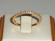 Damen 925 Sterling Silber & 18 Karat Roségold Überlagerung Finish Sapphire Ringe
