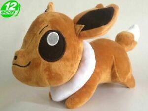 Eevee | Eievui 30cm 12inch Anime Game Stuffed Animal Plush Soft Toy Figure Doll