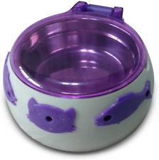 Magic Cat Bowl Automatic Opening Lid With Proximity Sensors One Size Purple