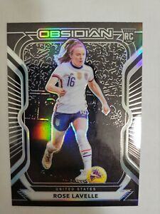 Panini Obsidian 2020-21 USA Top Prospect Rose Lavelle ROOKIE CARD /195 🔥💥