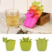 Tea Infuser Set for Loose Leaf Tea Cute Cat-shaped Tea Strainers Q
