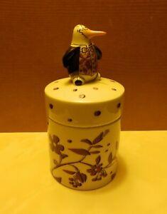 Goebel  Adam und Ziege    Porzellan - Dose     Pinguin
