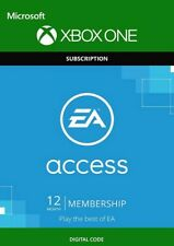 EA Access 12 Month Subscription Xbox One Code Key