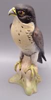 Vintage Goebel Porcelain Hand Painted Figurine Peregrine Falcon West Germany