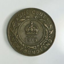 1919 Newfoundland One Cent Coin - King George V