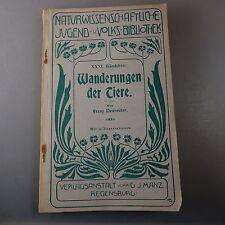 Franz Neureuther: Wanderungen der Tiere 1906 (42017)