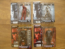 McFarlane Terminator 3: Rise Of The Machines Set of 4 New In Box