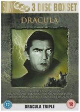 Dracula DVD Collection - 3 Classic Movies [3 Discs] Boxset Brand New DVD