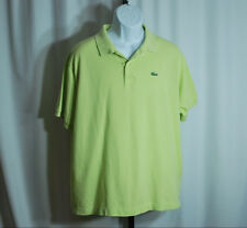 Lacoste Green Short Sleeve Polo Men's Sz 8 US 2XL