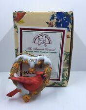 Enesco 1989 National Audubon Society American Cardinal Ornament